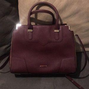 Rebecca Minkoff plum purse excellent condition